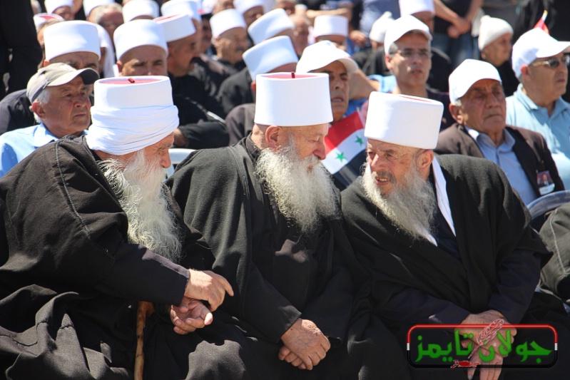 Photo of المركز الاخباري:احتفال اهلنا في عيد الجلاء بالجولان المحتل