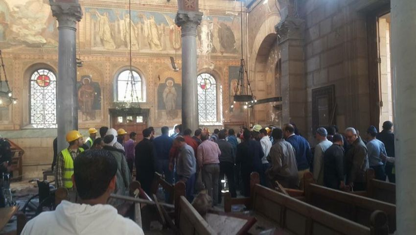Photo of 30 شهيدا بتفجير ارهابي استهدف كنيستين بمصر