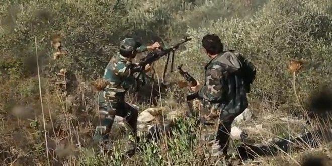 Photo of الجيش يسيطر على السفوح الجنوبية الغربية لجبل المزبد شمال صوامع تدمر