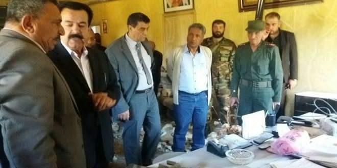 Photo of محافظ القنيطرة يتفقد مديرية التربية بعد الاعتداء الارهابي