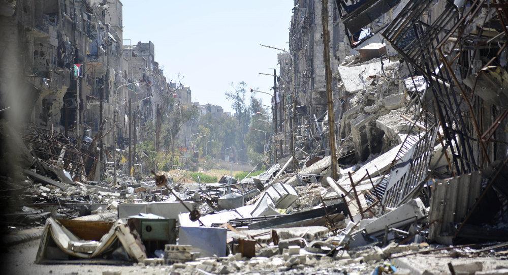 """Photo of تحضيرات لإخلاء """"مخيم اليرموك"""" و """"برزة"""" من الإرهاب"""