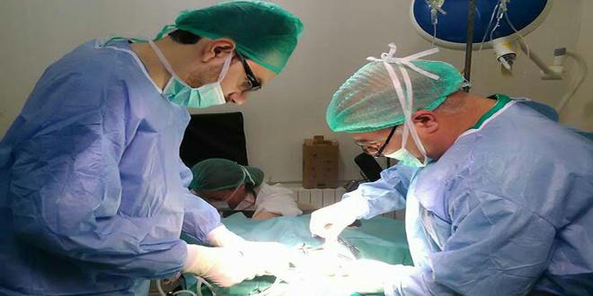 Photo of انجاز طبي في مركز الباسل بحمص