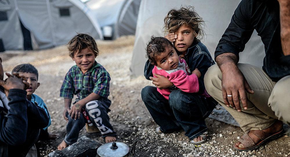 Photo of انفجار بمخيم الركبان للاجئين على الحدود السورية الأردنية