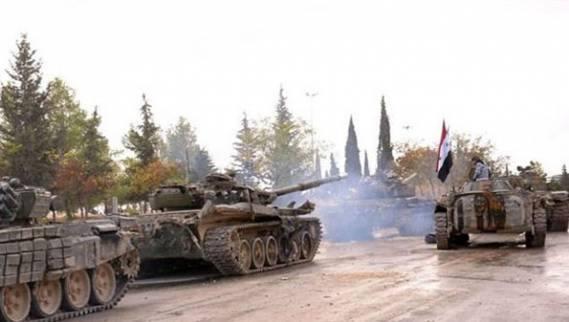 "Photo of "" الحرس الجمهوري"" يقصف مقرات داعش بدير الزور"
