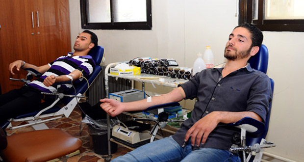 Photo of حملة تبرع بالدم لشبيبة درعا والسويداء وحمص