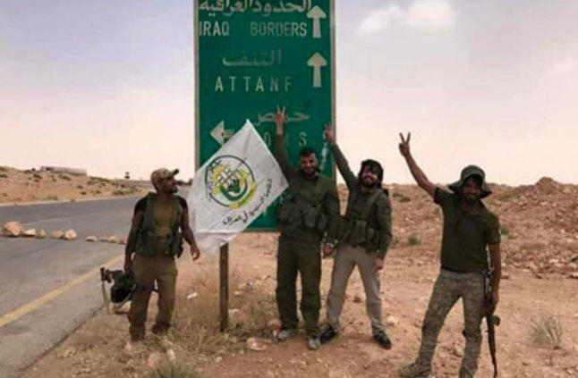 Photo of الحشد الشعبي العراقي يصل الى الحدود السورية