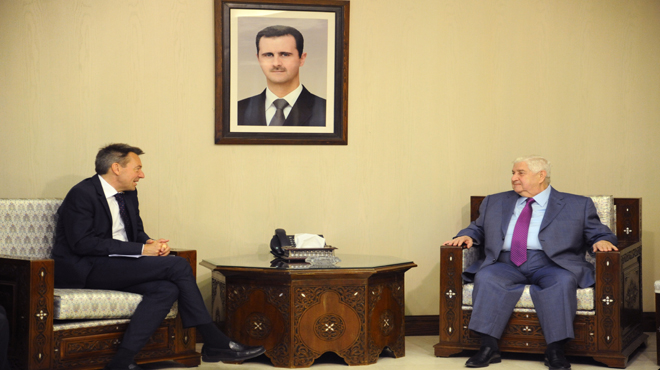 Photo of المعلم يلتقي رئيس اللجنة الدولية لصليب الاحمر