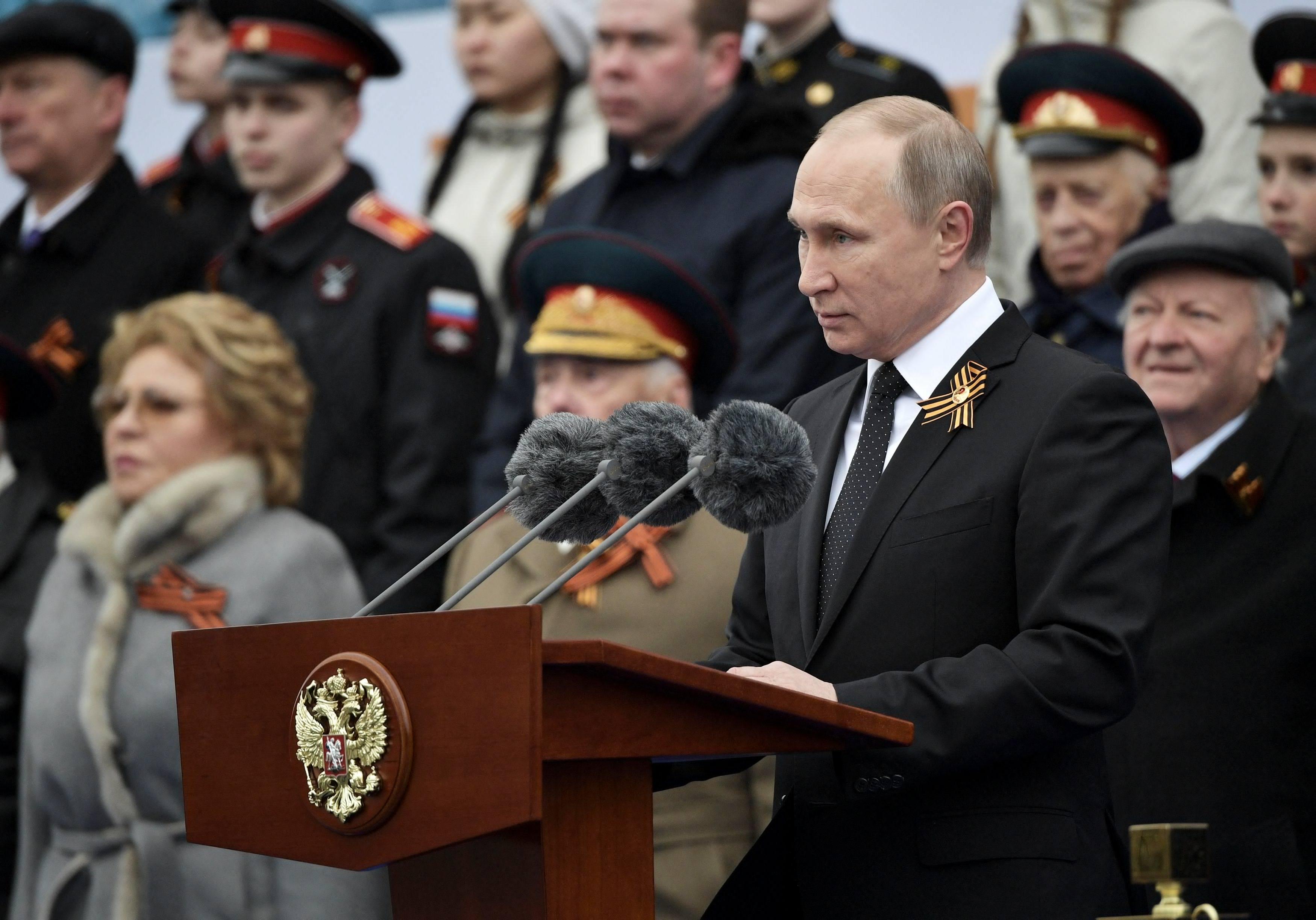 Photo of بوتين: سنرفع قدراتنا لمكافحة الإرهاب النازي الجديد