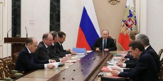 Photo of مجلس الامن الروسي يبحث الوضع بسوريا والعلاقات الامريكية