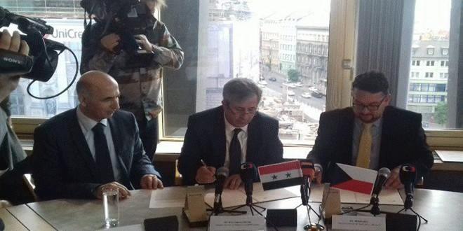 Photo of تعاون سوري- تشيكي لترميم الاثار وحمايتها