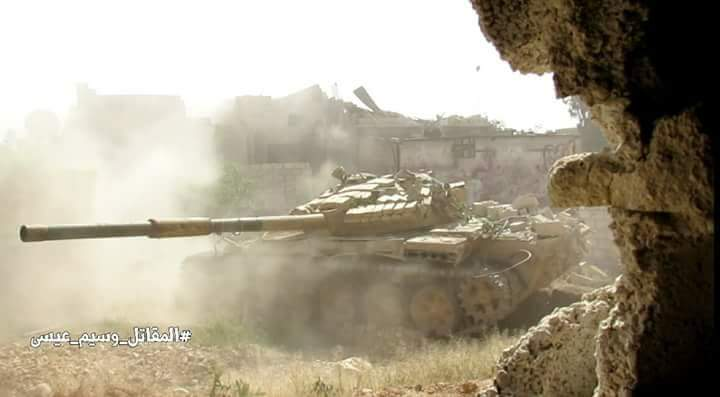 Photo of معارك درعا مستمرة والجيش يدمر اليات ومقرات
