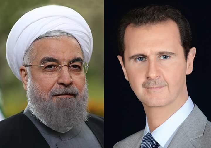 Photo of الاسد يهنئ روحاني بفوزه