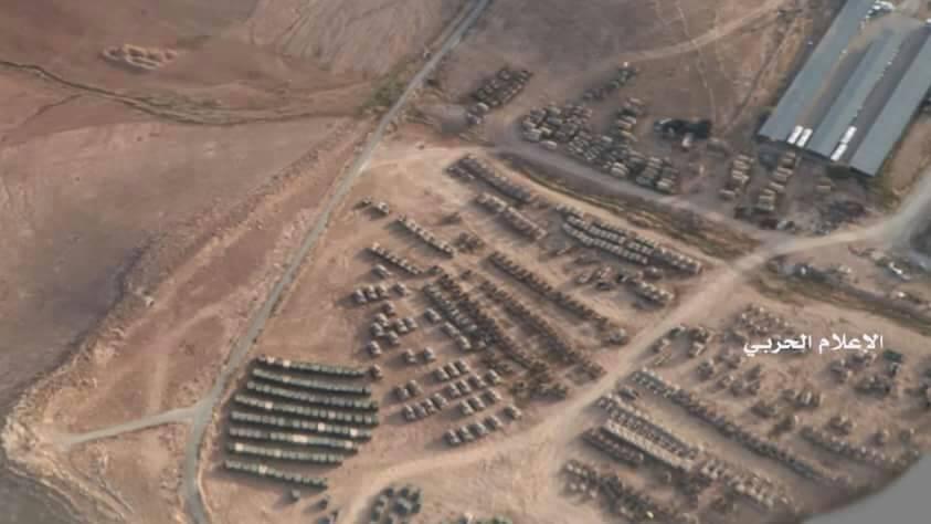 Photo of حشود عسكرية اردنية بالقرب من الحدود السورية