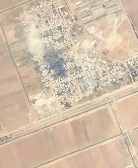 Photo of بالصور- قصف مقرات داعش بريف حلب