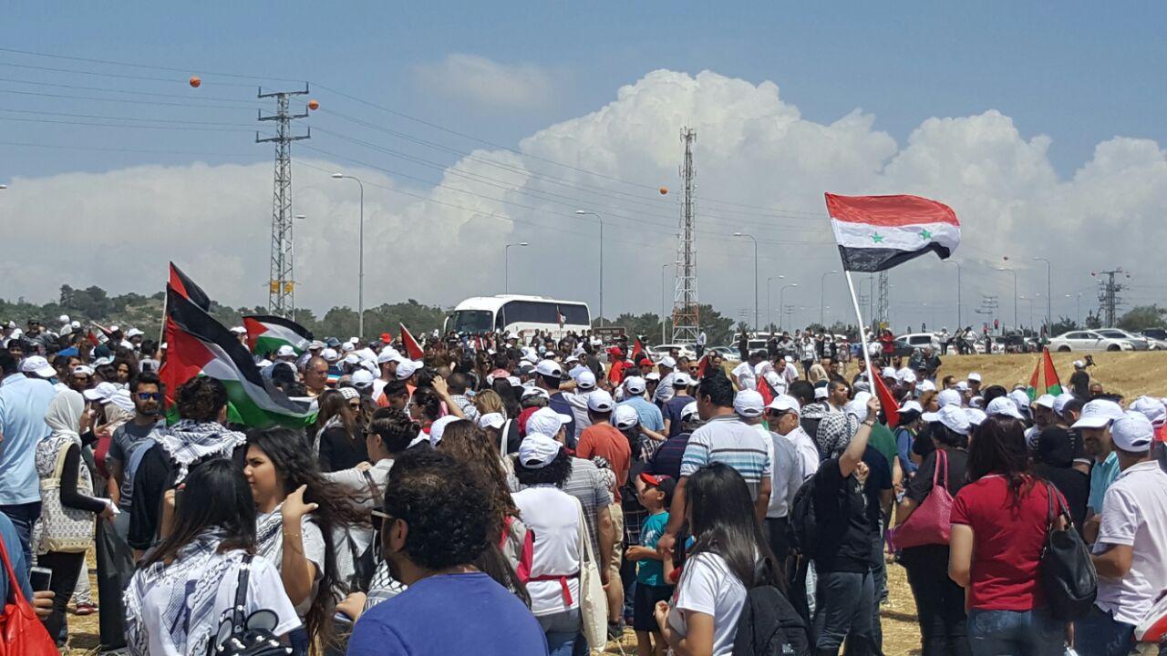 "Photo of مسيرة العودة إلى قرية ""كابري"""