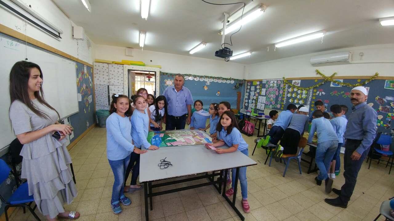 Photo of يوم اللغة العربية في مدرسة بقعاثا الابتدائية  (أ)