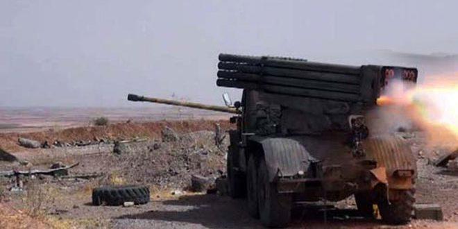 Photo of الجيش يسيطر على محطة غاز آرك بريف حمص
