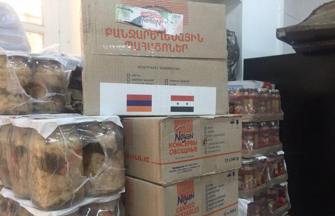 Photo of مساعدات انسانية من أرمينا لسوريا