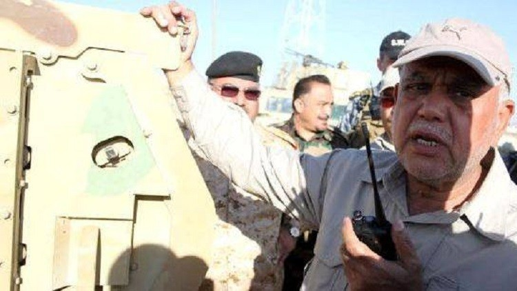 Photo of العامري يعلن تحرير منفذ حدودي مع سورية