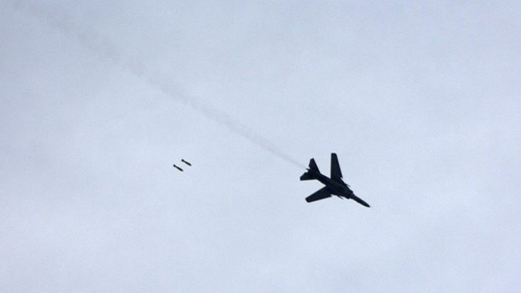 Photo of الطيران الحربي يرد على خرق الهدنة بجوبر