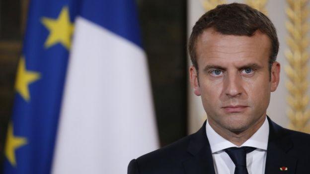 Photo of ماكرون: لا أرى بديلا شرعياً للأسد في سوريا