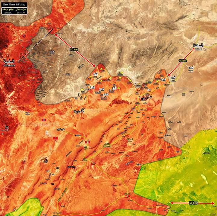Photo of بالخريطة- الجيش يسيطر على مساحات واسعة بتدمر
