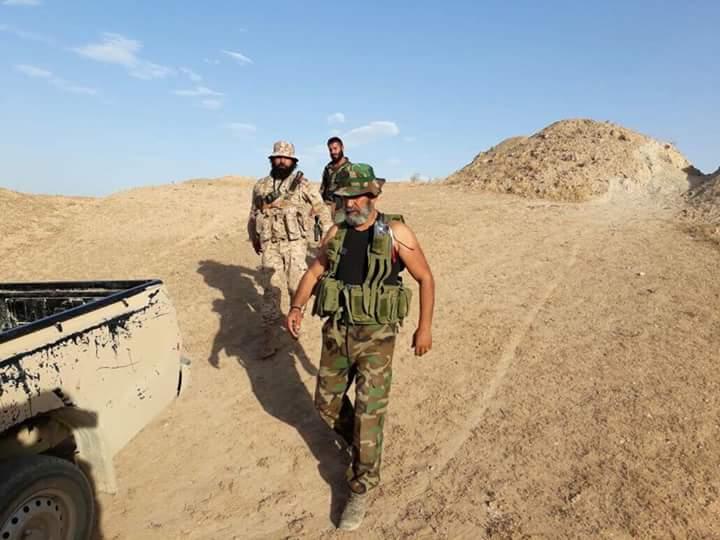 Photo of تدمير أليات لداعش بمحيط اللواء ١٣٧ بدير الزور