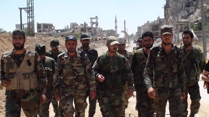 Photo of Acounter-attack in Quneitra and the Syrain Army recovers three points