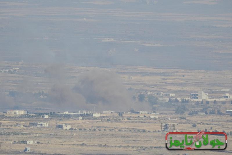 Photo of اشتباكات عنيفة بمحيط مدينة البعث بالقنيطرة