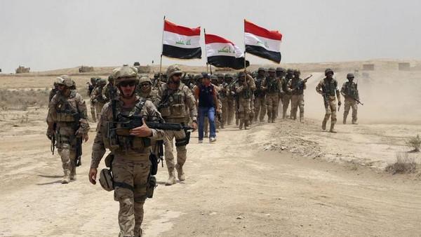 Photo of القوات العراقية تسقط دولة الخلافة بالموصل