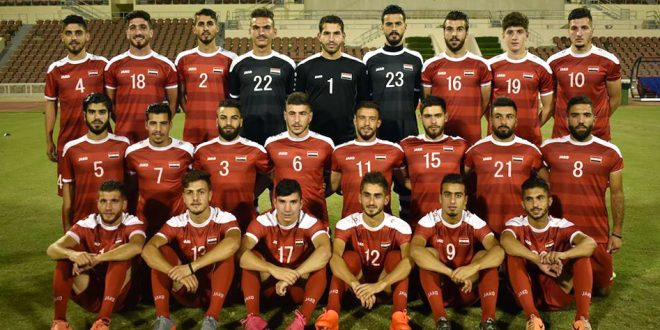 Photo of Syrian national football team starts its training camp in Vienna
