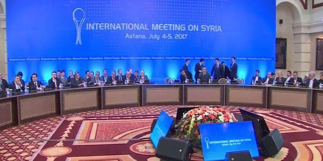 Photo of بيان استانة لدول الضامنة: نؤكد على وحدة الأراضي السورية