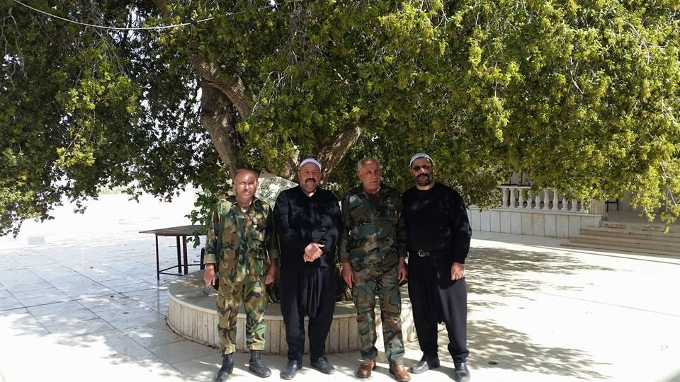 Photo of بفضل تضحيات ابطال الجيش العربي السوري مقام النبي هابيل مفتوح لاستقبال الزوار