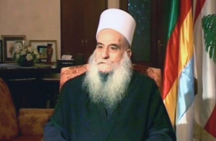 Photo of Sheikh Nassr aldin alghareeb congratulate Iraqis in Mosul liberalization
