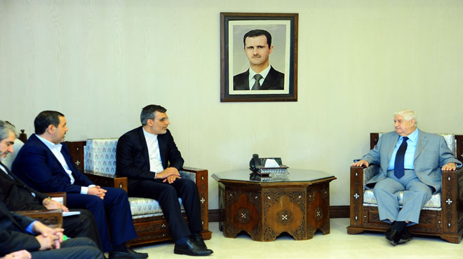 """Photo of اجتماع """"سوري- ايراني"""" لبحث اوضاع  المنطقة"""