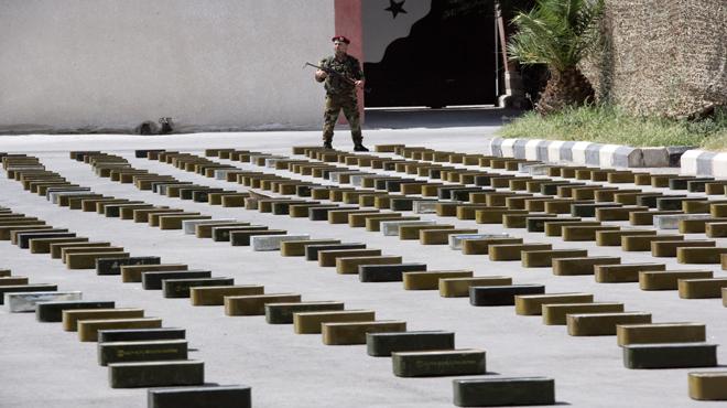 "Photo of ضبط أسلحة امريكية واسرائيلية كانت بطريقها لإرهابيي ""القلمون"""
