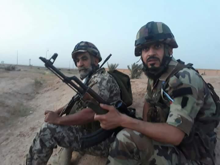 Photo of داعش تحت نيران الجيش بدير الزور