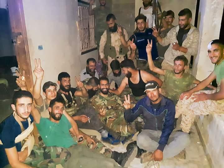 """Photo of الجيش يأمين محيط """"مدينة البعث"""" بالكامل"""