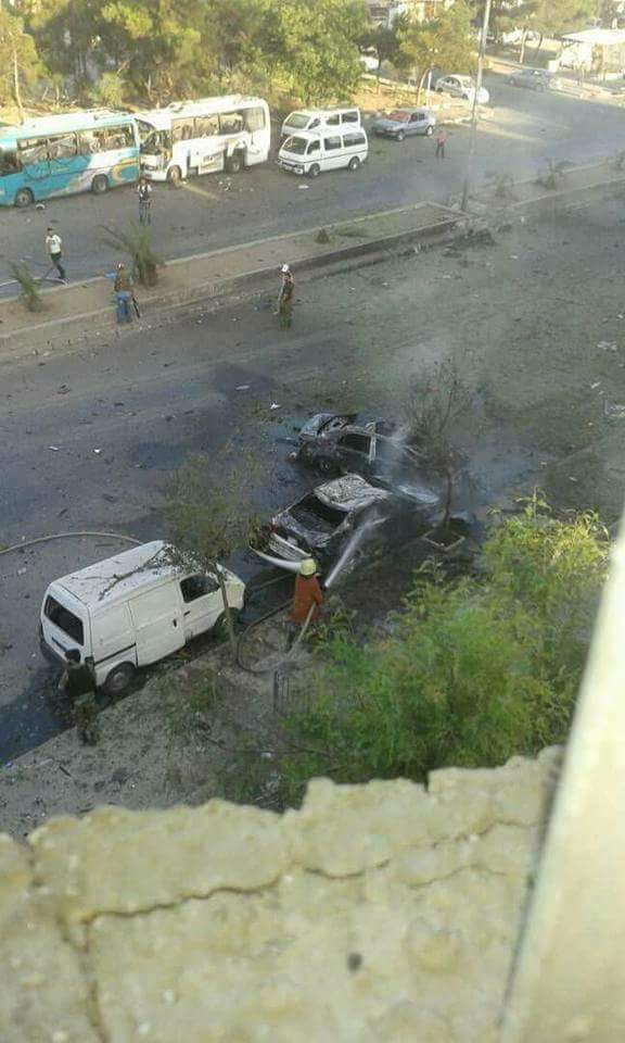 Photo of ثلات تفجيرات إرهابية بدمشق