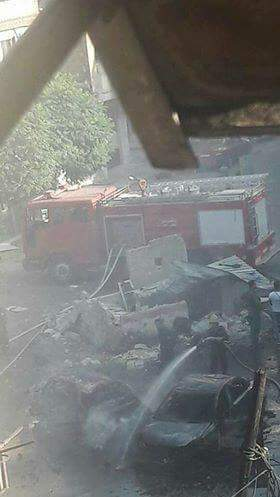 Photo of Terrorists' car-bombs target different parts of Damascus today