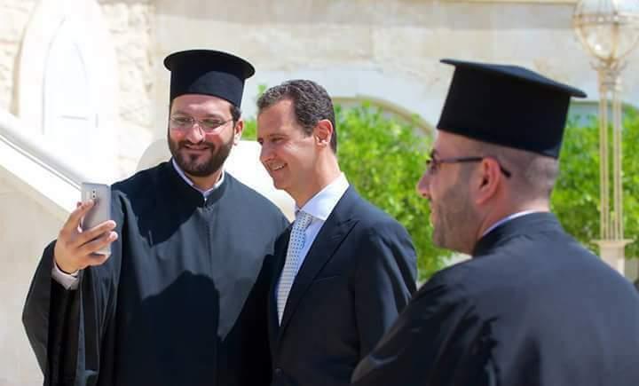 Photo of الأسد لوفد بطريركية الروم: للكنيسة دور هام بالوحدة الوطنية