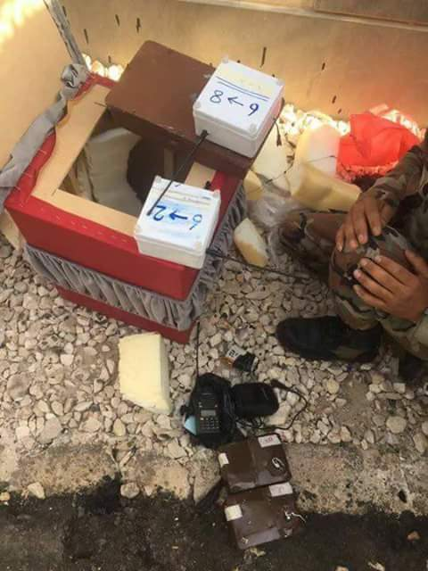 Authorities uncover workshop for manufacturing IEDs in Sweida