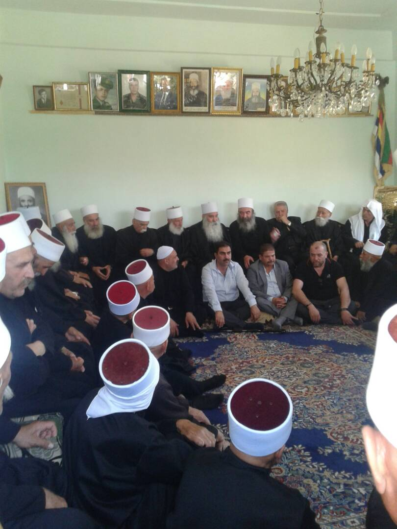 Photo of A religious occasion in Sweida become a national position supportive of the people of the Golan Heights
