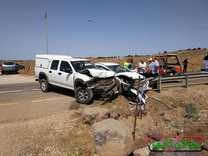 Photo of حادث سير  جنوبي  قرية بقعاثا