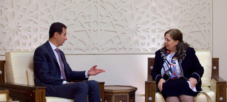 Photo of الأسد لرئيسية الرقابة والتفتيش: علينا التشديد بمكافحة الفساد