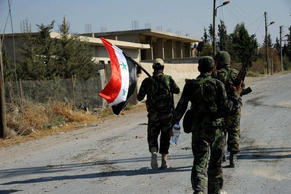 Photo of Syrian Army deals with a terrorist attack in Sweida countryside