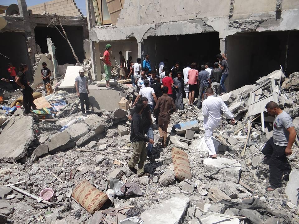Photo of مجزرة جديدة لتحالف بمدينة الرقة