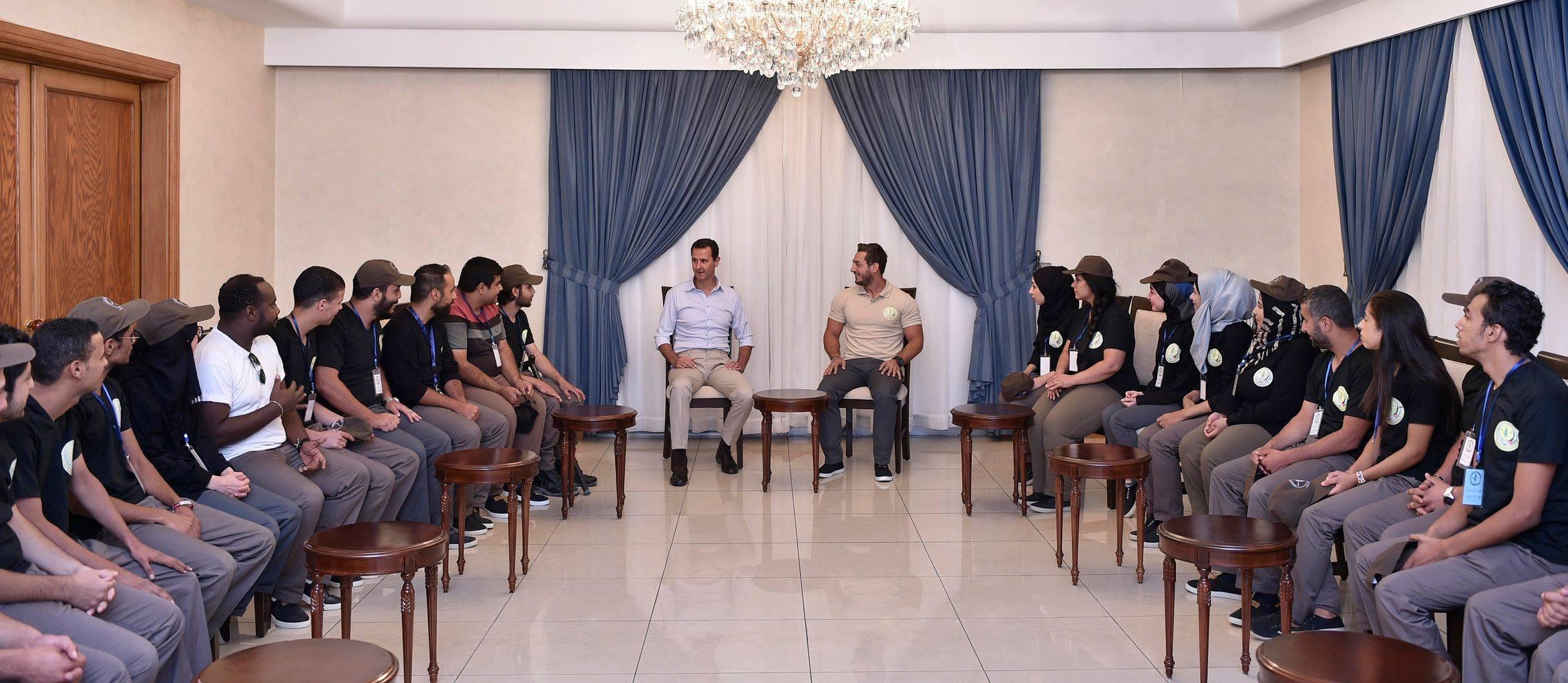 Photo of الأسد لشباب المقاوم: عليكم تغير الواقع وبناء المستقبل