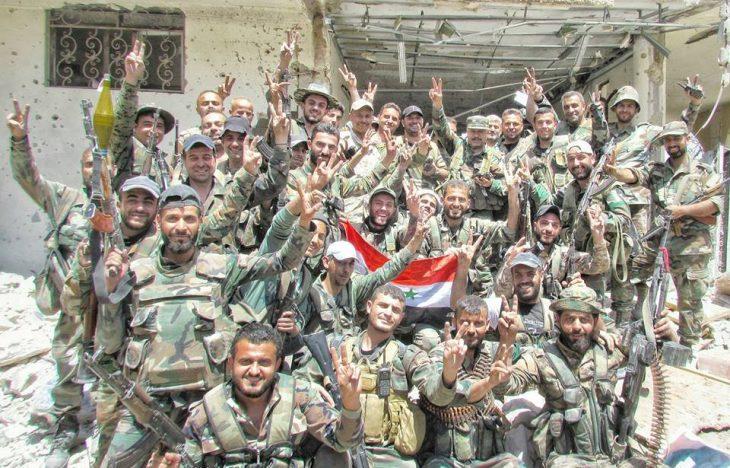 Photo of معارك شرسة يخوضها الحرس الجمهوري بعين ترما وجوبر