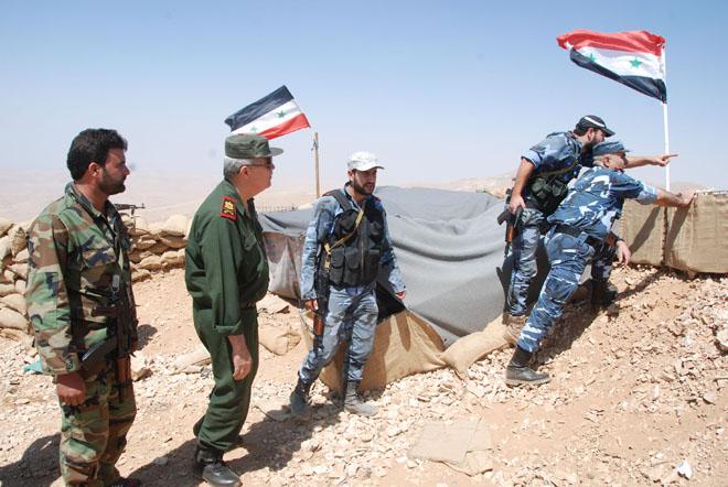 Photo of الشرطة تساند الجيش بتطهير القلمون